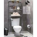 Mueble Estante Organizador Baño Repisa Toallas Sobre Inodoro