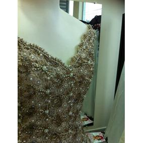 Vestido Noiva Champanhe
