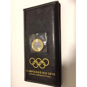 Dois Álbum Olimpíadas Rio2016 Completo 17 Moedas -c/bandeira