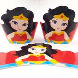 10 Wrappers Saia Forminha Personalizada Cupcake Gran.+brinde