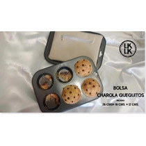 Bolsa Charola Molde Cupcakes Quequitos Muffin