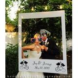 Marco Foto Photoboot Photocall Fiesta Boda Matrimonio