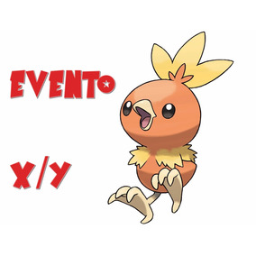 Torchic Evento Xy Wonder Card Promoção!- Pokémon Xy/oras 3ds