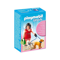 Playmobil 5490 Mujer Con Perros Cachorro Metepec Toluca
