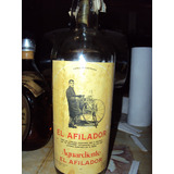 Botella Antigua Agua Ardiente El Afilador España
