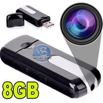 Pendrive Espião Camera Espiã Sensor De Movimento Filma Fotos