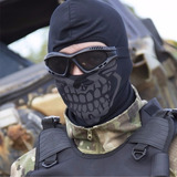 Touca Balaclava Caveira Airsoft Paintball Cotton