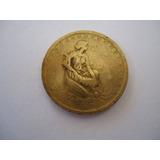 Moeda Bronze Alumínio 1000 Mil Réis 1927 Comemorativa