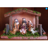 Lindo Pesebre De Navidad - 15x11x6,5cms - Belén - Nacimiento