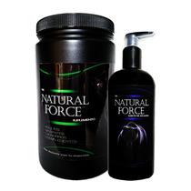 Proteína + Aceite De Salmón The Natural Force Envío Incluido