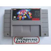 Tetris 2 Para Super Nintendo Snes Excelente Estado Clasico