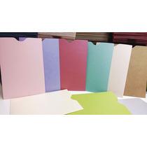 Sobres Especiales Estuche 11x16 Cm Varios Colores Pack X 75