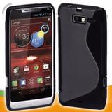 Capa Case Tpu Silicone Motorola Razr D3 Xt919 Xt920 Pelicula