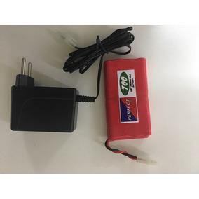 Bateria 9,6v 700 Mah Nicd + Carregador P/carro Maisto