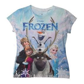 Frozen Remeras Disney Original