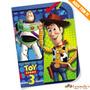Convite Toy Story 3d C/8 Regina