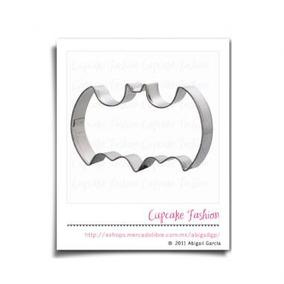 Cortador Galletas Batman Fondant Pasta Flexible #1901