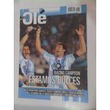 Revista Olé Racing Club Campeón 2014