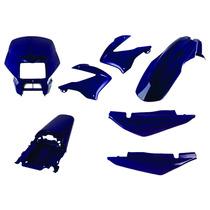 Carenagem Kit Completo Bros 125 Azul 2005