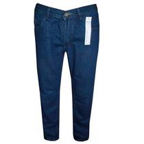Calça Jeans Calvin Klein Escura Corte Reto + Frete Grátis