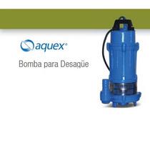 Bomba Sumergible Para Agua Sucia Aquex Aqdx50 1/2hp