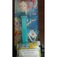 Coleccionable. Despachador De Dulces Pez, Elsa De Frozen.