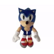 Boneco Pelucia Sonic Grande Antialérgico