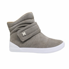Tenis Mary Jane Space High Mj-4324-concreto