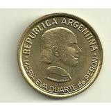 Moneda Argentina 50 Centavos Eva Peron Año 1997 Sin Circular