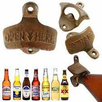 Destapador De Pared Cervezas Gaseosas Vintage Retro
