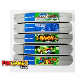 Label Adesiva Para Topo Cartuchos Nintendo 64 Não É O Jogo