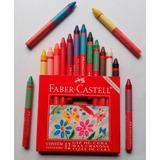 Crayolas ... Para Manitas Delicadas X 10pz Faber Castell