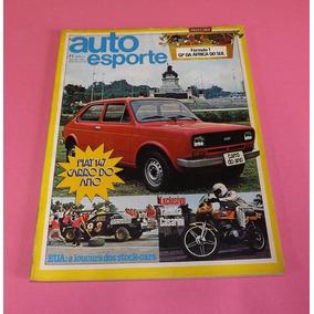 Revista Auto Esporte 1978 Fiat 147 Carro Do Ano