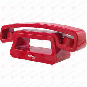 Telefone Sem Fio Digital Ts-8120 Vermelho Intelbras