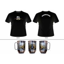 Kit Santos Camiseta + Caneca Personalizada