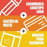 Logomarca Logotipo Logo + Cartão De Visita + Imagem Facebook