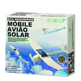 Móbile Avião Solar - 4m