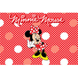 Painel Decorativo Festa Infantil Disney Minnie Mouse (mod2)