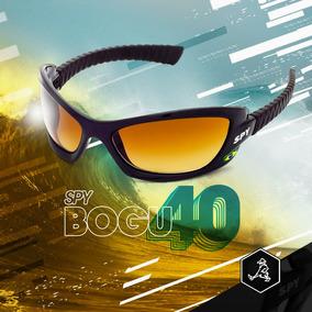 Óculos De Sol Spy Original Bogu 40 Preto - Lente Amarela