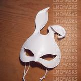 Antifaz Conejita Bunny Blanca Máscara Conejo Coneja Fiestas