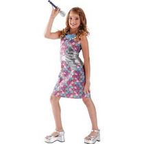 Disfraz Para Niña Tamaño De Hannah Montana Vestido Del Traj
