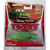 Disney Pixar Cars, Retro Radiador Fundido A Troquel, Edwin