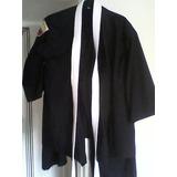 Kimono Para Karate. Kenpo.tekonndo Negro Talla 16 O S Dama