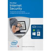 Mcafee Internet Security 2017 1 Ano Para 3 Pc