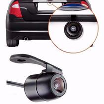 Câmera De Ré Automotiva Borboleta Colorida Estacionamento
