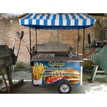 Carritos Hamburguesas Hot Dog Carros Hotdog Carrito Puesto