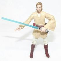Boneco Action Figure Obi Wan Kenobi Star Wars Hasbro Yoda R2