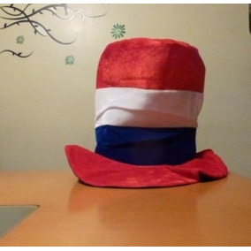 Halloween. Sombrero Copa Alta. Hora Loca Disfraz Francia
