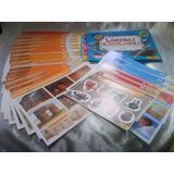 21 Laminas Escolares Variadas El Popular + Stickers B30