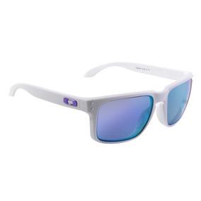 Óculos Masculino Oakley Holbrook Matte White Violeta
